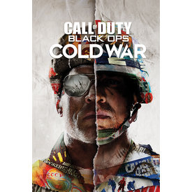 Call of Duty Black Ops Cold War Split Maxi Poster