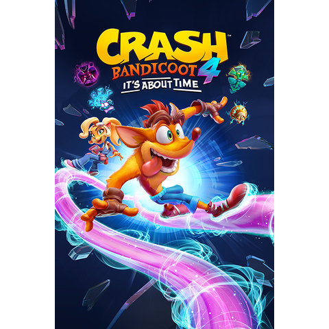 Crash Bandicoot 4 It's About Time Ride Maxi Poster