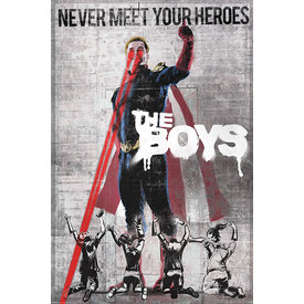 The Boys Homelander Stencil Maxi Poster
