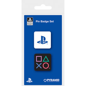 Playstation Enamel Pin Badge Set