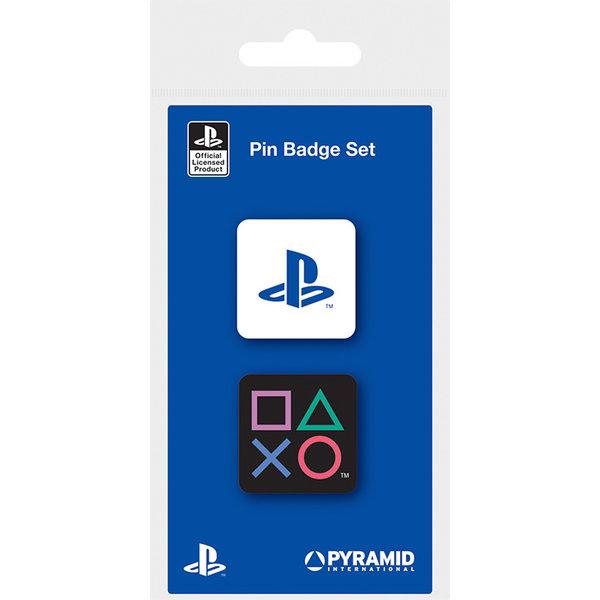 Playstation Enamel Pin Badge Set