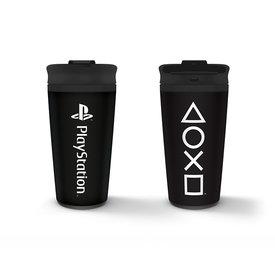 Playstation Onyx Metal Travel Mug