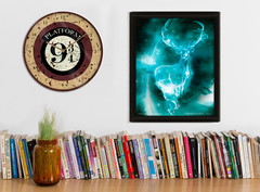 Wall Clocks and Framed 3D Posters