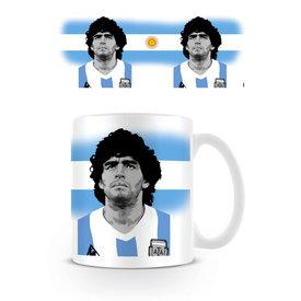 Maradona Portrait Mug