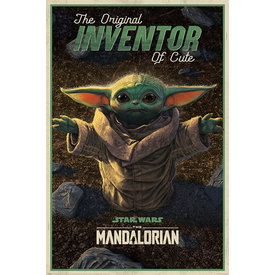 Star Wars The Mandalorian The Original Inventor of Cute Maxi Poster
