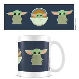Star Wars The Mandalorian Illustration Mug
