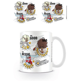 Cannon Busters The Good The Bad The Bessie Mug