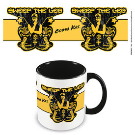 Cobra Kai Sweep The Leg  Coloured Mug