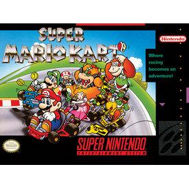 Super Nintendo Super Mario Kart - Canvas 30x40cm