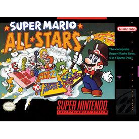 Super Nintendo Super Mario Allstars - Canvas 30x40cm