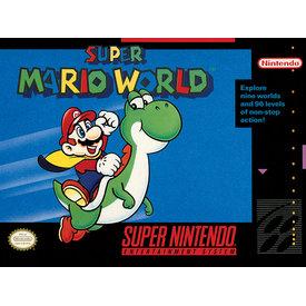 Super Nintendo Super Mario World  - Canvas 30x40cm