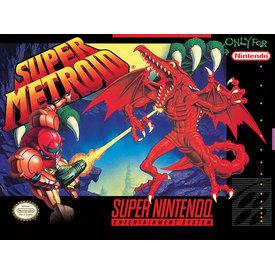 Super Nintendo Super Metroid  - Canvas 30x40cm