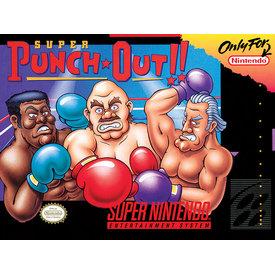Super Nintendo Super Punch Out - Canvas 30x40cm
