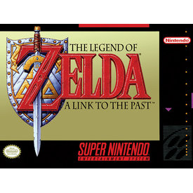 Super Nintendo Zelda - Canvas 30x40cm