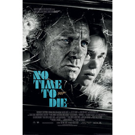 James Bond No Time To Die Noir Maxi Poster