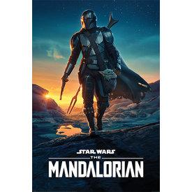 Star Wars The Mandalorian Nightfall Maxi Poster