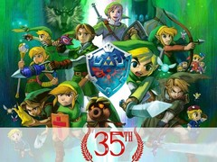 The 35th anniversary of The Legend of Zelda