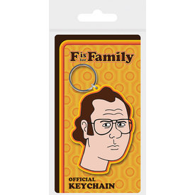 F Is For Family Frank - Keyring