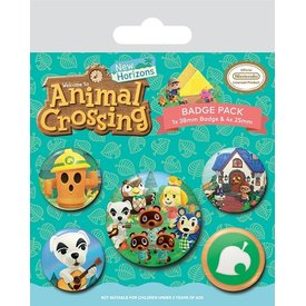 Animal Crossing Islander - Badge Pack