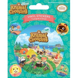 Animal Crossing Island Antics - Vinyl Stickers