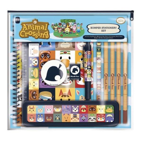 Animal Crossing Villager Squares - Super Bumper Stationery Set