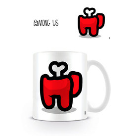 Among Us Red Died - Mug