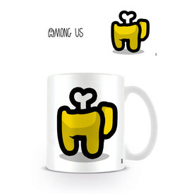 Among Us Yellow Died - Mug