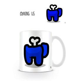 Among Us Blue Died - Mug