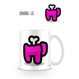 Among Us Magenta Died - Mug