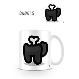 Among Us Black Died - Mug