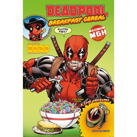 Deadpool Cereal - Maxi Poster