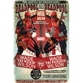 Deadpool Wade vs Wade - Maxi Poster