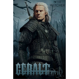 The Witcher Gerald Of Rivia - Maxi Poster