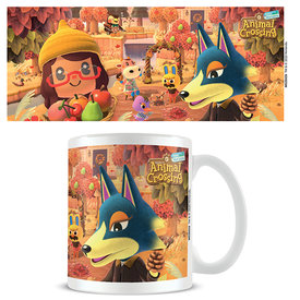 Animal Crossing Autumn Mug