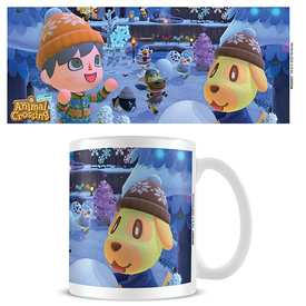 Animal Crossing Winter Mug