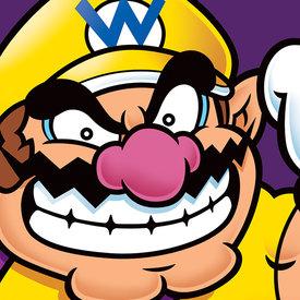 Super Mario Wario - Canvas 40x40cm