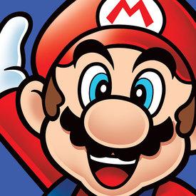 Super Mario Mario - Canvas 40x40cm