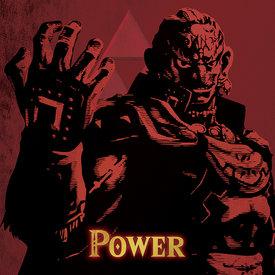 The Legend Of Zelda Power - Canvas 40x40cm