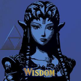 The Legend Of Zelda Wisdom - Canvas 40x40cm