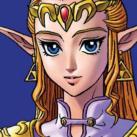 The Legend Of Zelda Zelda - Canvas 40x40cm