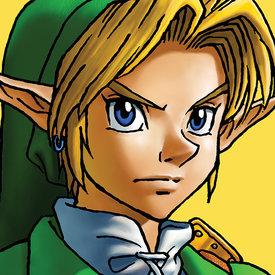 The Legend Of Zelda Link - Canvas 40x40cm