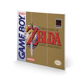 Gameboy The Legend Of Zelda - Wood Print 30x30cm