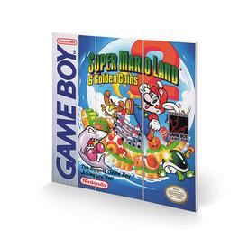 Gameboy Super Mario Land 2 - Wood Print 30x30cm