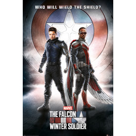 The Falcon And The Winter Soldier Wield The Shield - Maxi Poster