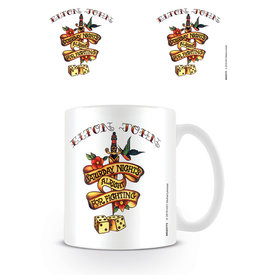 Elton John Saturday Night Tattoo - Mug