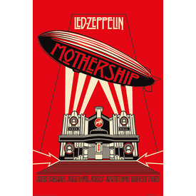 Led Zeppelin Mothership Red Maxi Poster