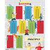 Buurman & Buurman Rekentafels Mini Poster