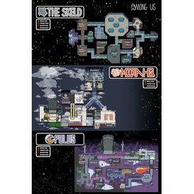 Among Us Maps - Maxi Poster