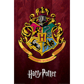 Harry Potter Hogwarts School Crest - Maxi Poster
