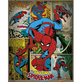 Marvel Comics Spider-Man Retro - Mini Poster